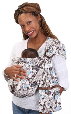 Over The Shoulder Baby Holder